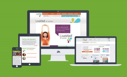 Fireant's responsive layout for LiveWell Colorado campaigns and microsites