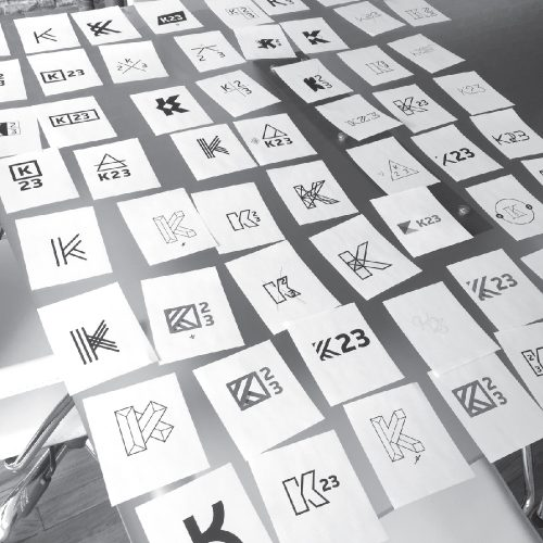 A photo of Fireant's interactive branding activity in progress