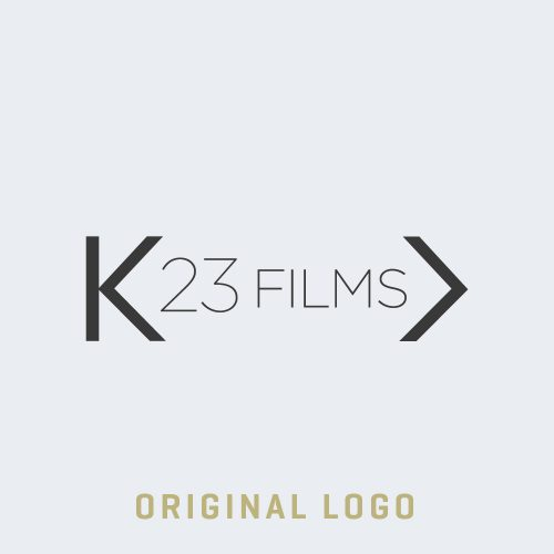 The original K23 Media logo before the branding refresh