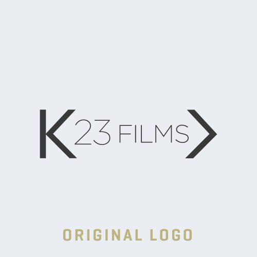 The original K23 Media logo before the branding refresh