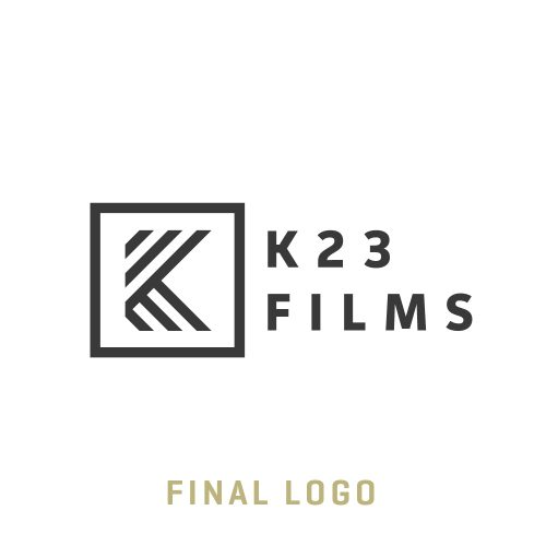 The Final K23 Logo designed by FIREANT Studio