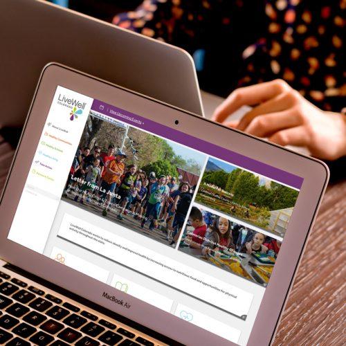 Responsive web design and development for non-profit Livewell Colorado