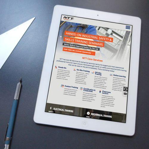 NTT on iPad