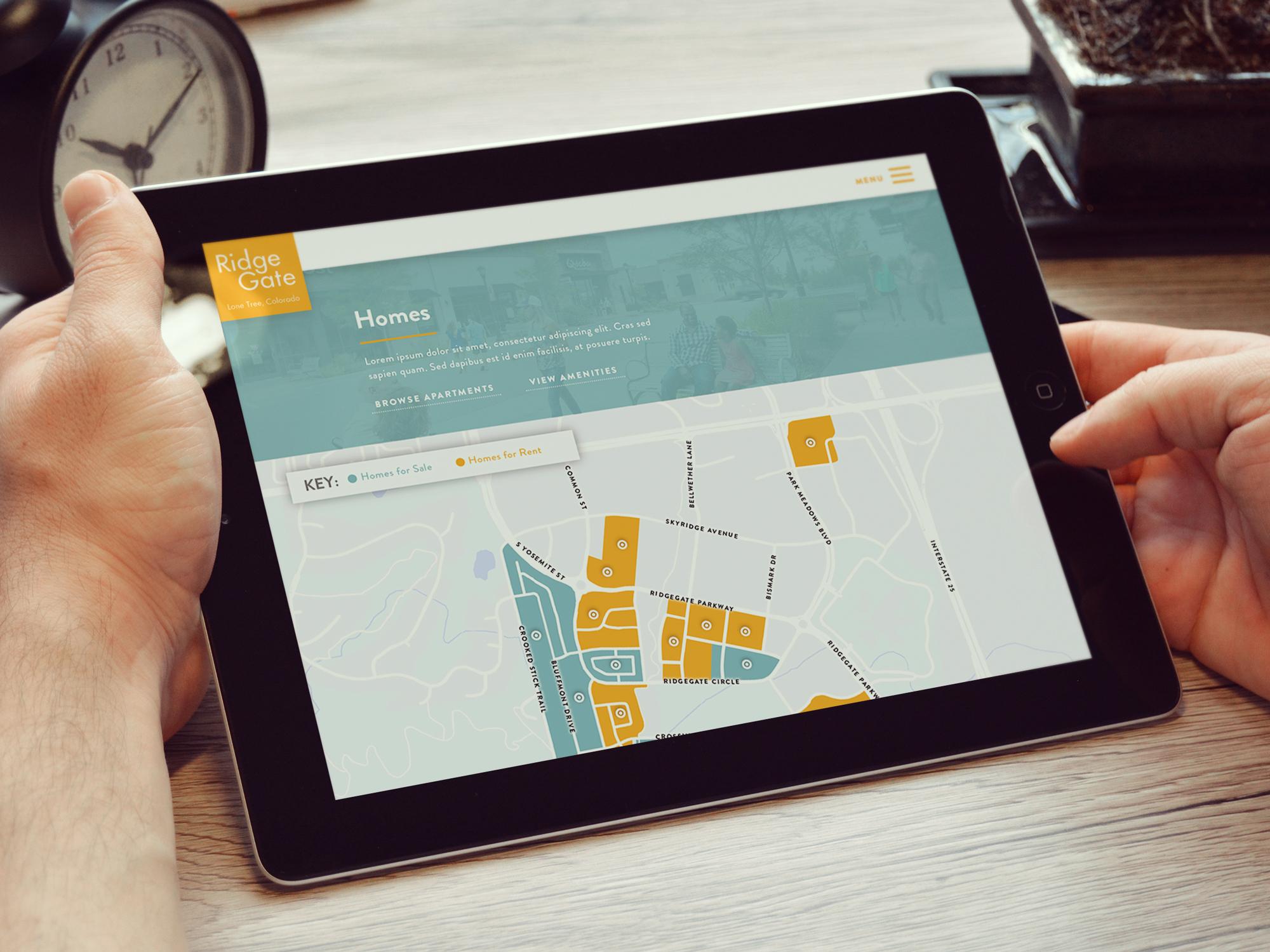 SEO Optimized Responsive Website for RidgeGate | FIREANT STUDIO